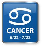 Cancer Astrology Sign poster