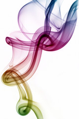 Harmony - Colorful Abstract Smoke Art