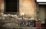 Italian old-style bicycle poster