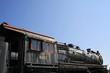 very old locomotive