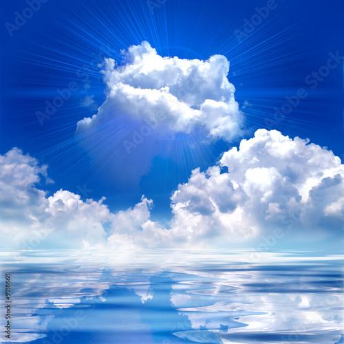 cloud with shine - 9188668