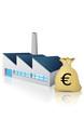 Usine et son budget en Euro (reflet)