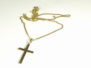 Gold cross 001