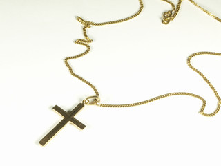 Gold cross 002