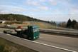 LKW auf  Autobahn in Knüll zw. Kassel und Frankfurt