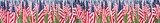 Stars and stripes banner - 9197898