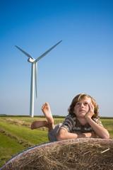 éolienne vent énergie propre environnement renouvelable avenir e