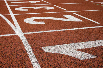 track and field numbers