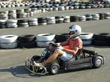 go kart in action
