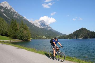 Mountainbiken in Tirol am Wilden Kaiser - Alpen