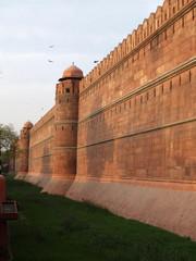 The Delhi Fort , a UNESCO World Heritage Site in 2007