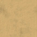 A corrugated carboard texture with creases and wrinkles poster