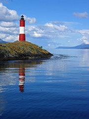Lighthouse in the Beagle Channel Ushuaia Patagonia Argentina