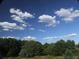 paisaje de nubes