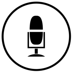 microphone broadcast symbol