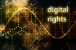 Digital Rights Abstract Technology Concept Wallpaper Background