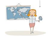 Geography teacher poster