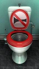 toilettes klaxon