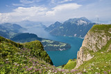 Fototapety The lake of the four Cantons in Switzerland