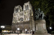 Notre Dame in Paris taken at night