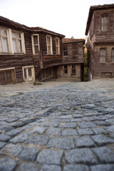 Historical Turkish house exterior..Old turkish culture