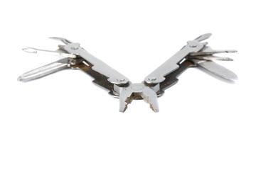 multi tool metal plier with a lor of usages available