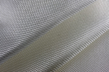 abstract of fiberglass cloth with two folds and fiber pattern