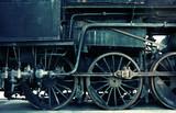 acidic horizontal train detail poster