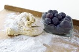 dough for plum dumplings poster