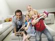 Familie spielen computer Spiel