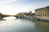 France, Paris, Seine, Pont d'Arcole