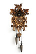 Cuckoo clock, close-up