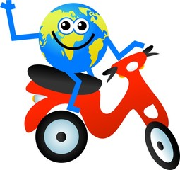 scooter globe