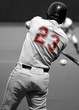 Baseball Batter Selective Color