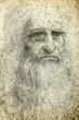 Leinwandbild Motiv Leonardo da Vinci Self-Portrait, 1512