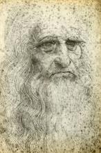 Leonardo da Vinci Autoportrait, 1512