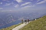 Trekking-Tour am Gardasee poster