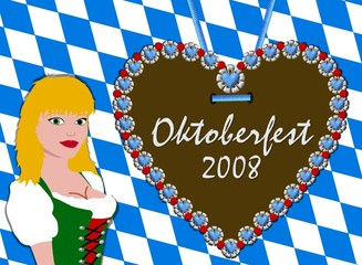 oktoberfest 2008 - illustration