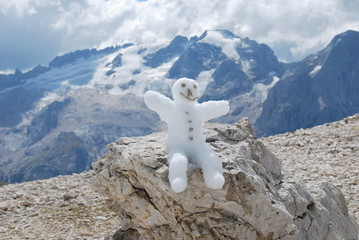 pupazzetto di neve