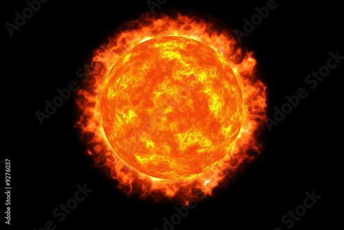 Fiery sphere - 9276037