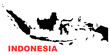 Indonesia Map High resolution
