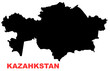 kazahkstan map