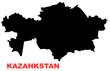 kazahkstan map
