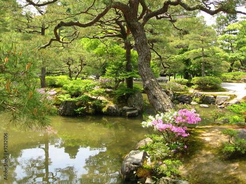Jardin japonais kyoto de lotharingia photo libre de for Achat jardin japonais