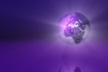 violet globe