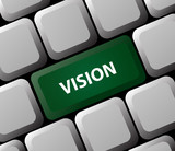 Vision Keyboard Button poster