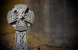 Celtic Headstone poster