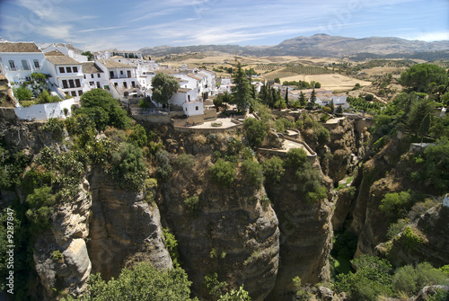 SUSPENDED HOUSES IN RONDA (SPAIN)