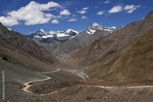 Mountain Road in Ladakh
