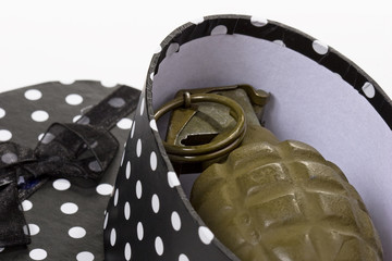 Hand Grenade in Gift Box